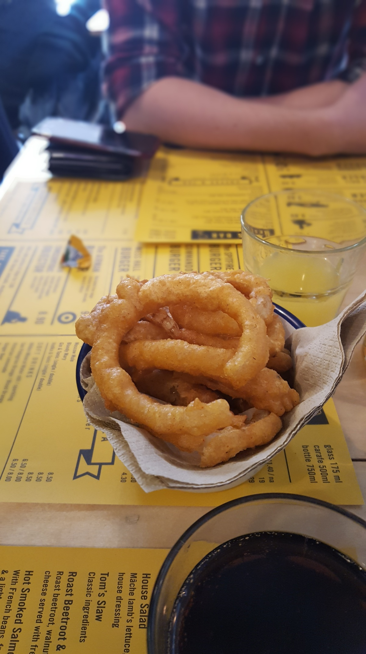 Tom Tom Mess Hall onion rings